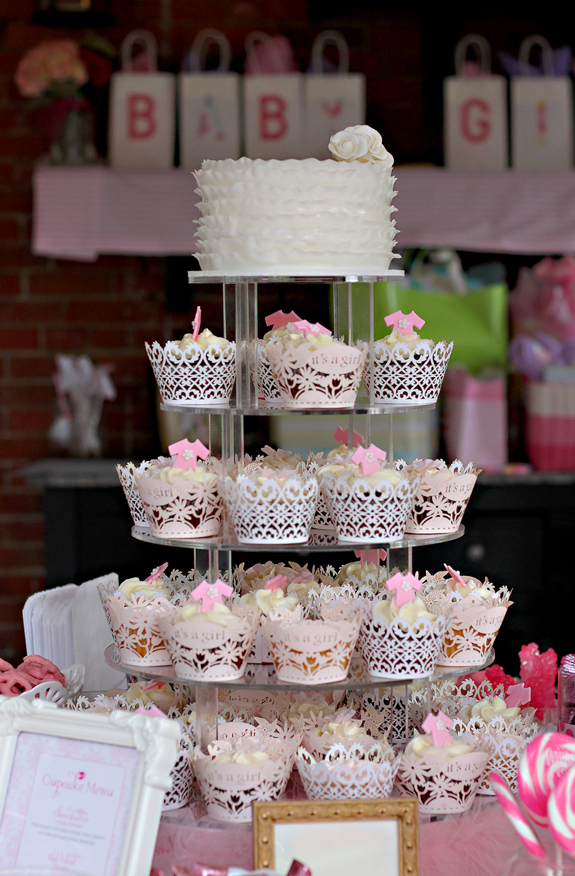 Cupcake Display Gallery Baby Shower