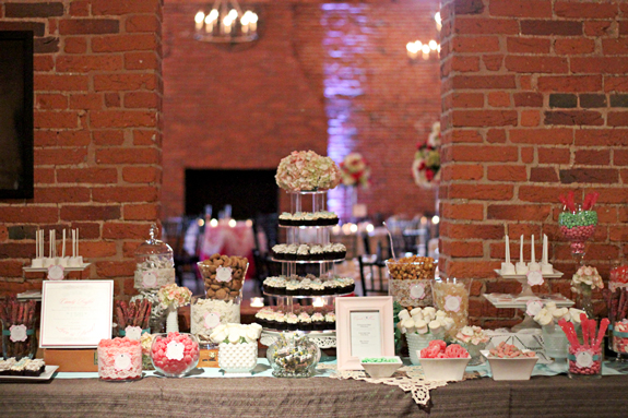 Cork Factory Sweets Table