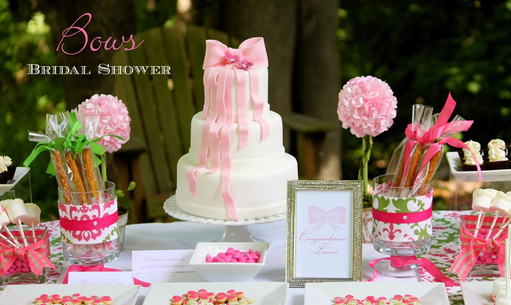 Briday Shower Sweets Table