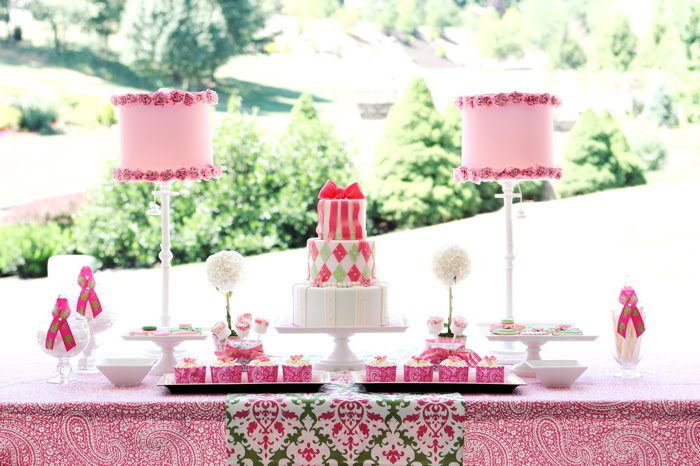 Preppy Sweets Table