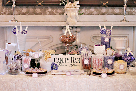 Vintage Sweets Table