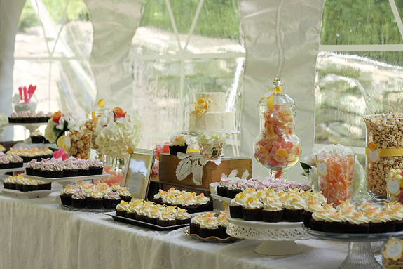 Moonstone Manor Sweets Table