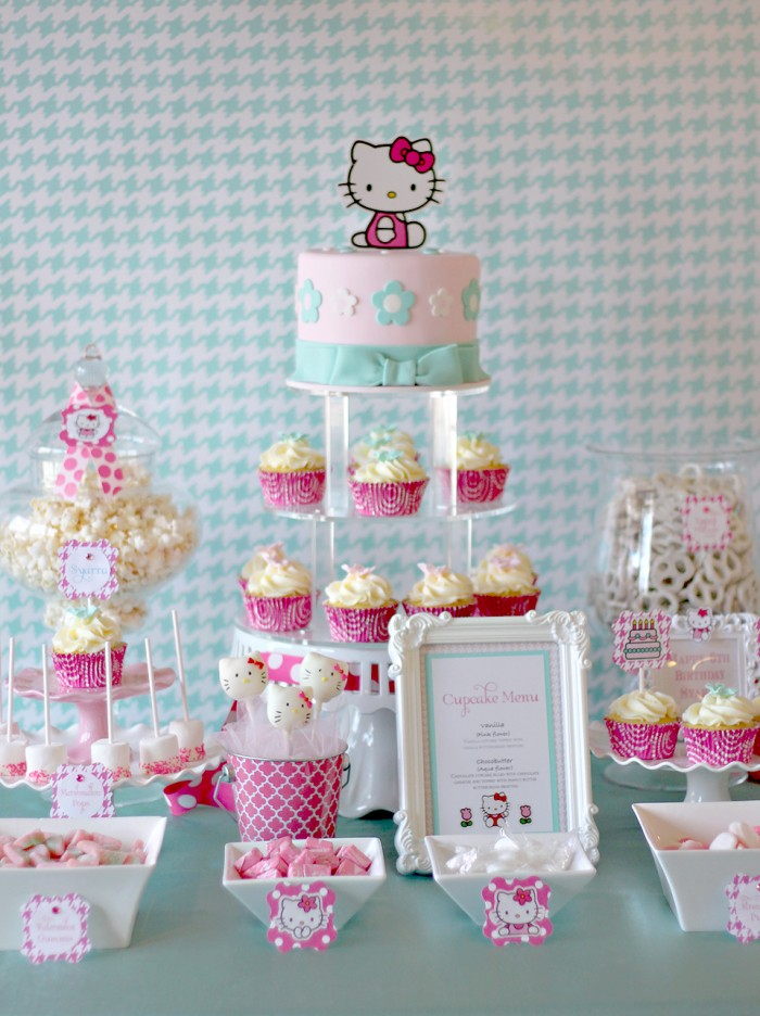 Hello Kitty 6th Birthday Party The Couture Cakery