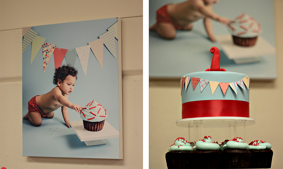 The Couture Cakery - Liams 1st birthday party