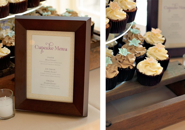 The Couture Cakery - cupcake tower wedding