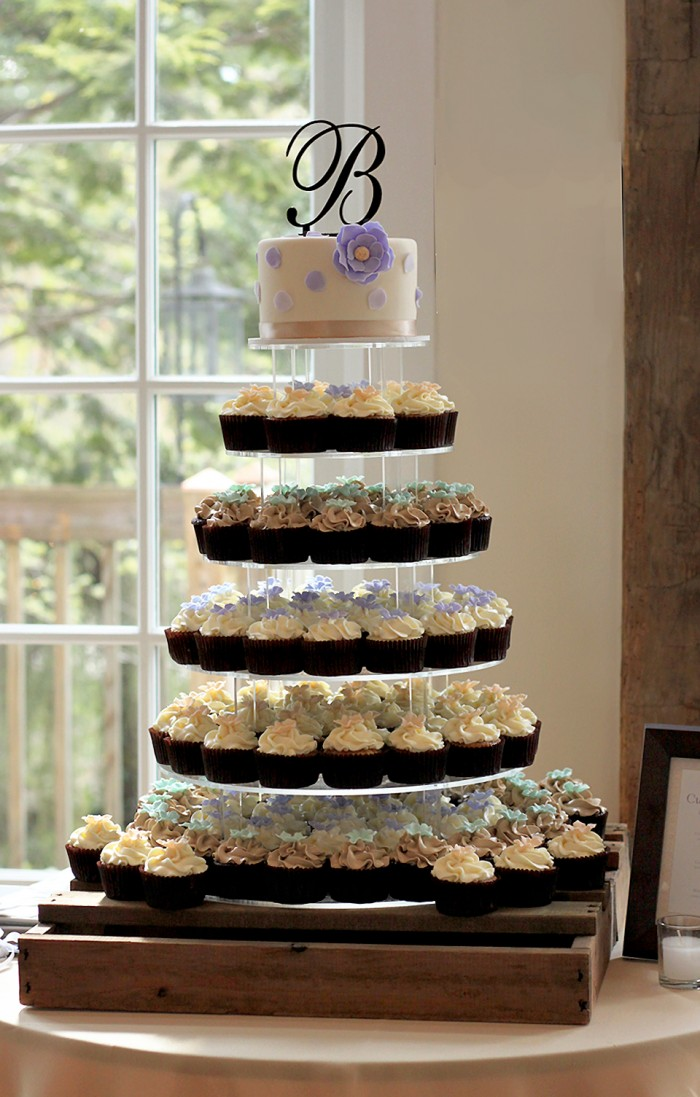cupcake tower | The Couture Cakery