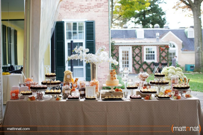 The Couture Cakery - Wedding Cake & Sweets Table. Photo by MattnNat