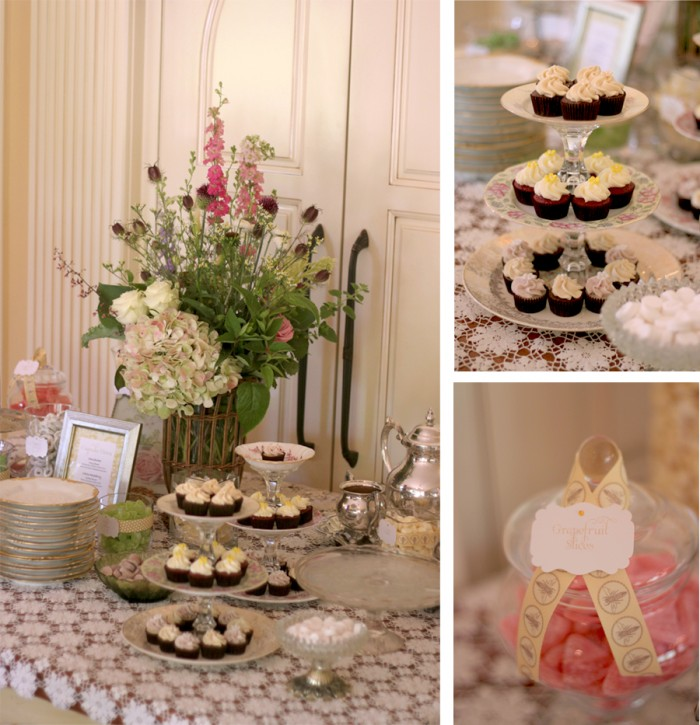 Vintage Garden Party Bridal Shower The Couture Cakery