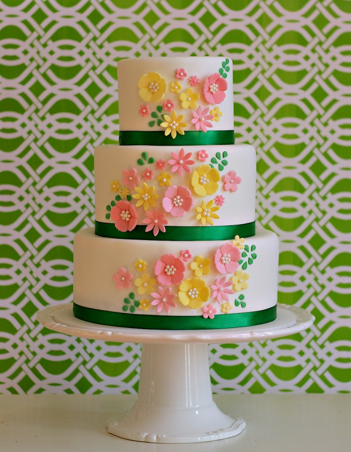 The Couture Cakery Baby Shower Cake