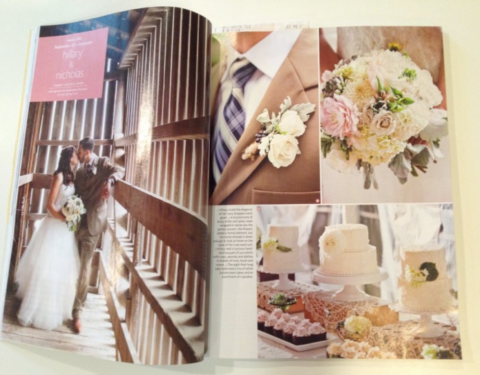 The Couture Cakery - Wedding Cake. Featured in The Knot Magazine.