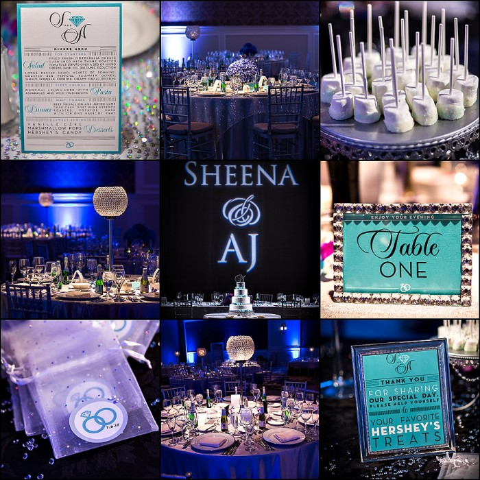 The Couture Cakery - Tiffany Theme Wedding Cake