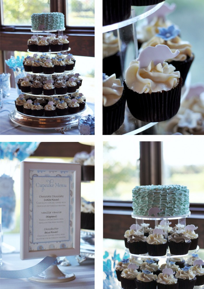 The Couture Cakery - Baby Shower Dessert Table