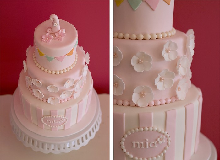The Couture Cakery - Mia's 1st birthday cake