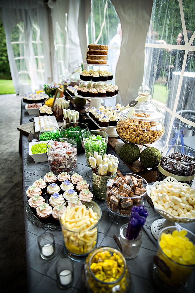 The Couture Cakery - Dessert Table  at Moonstone Manor