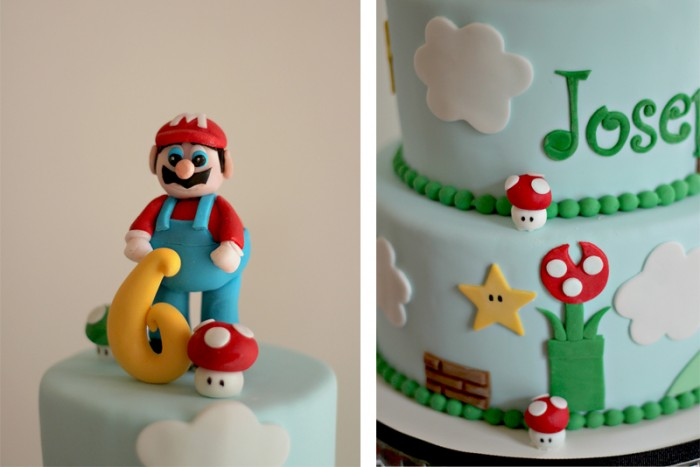 Josephs Super Mario Birthday Cake The Couture Cakery