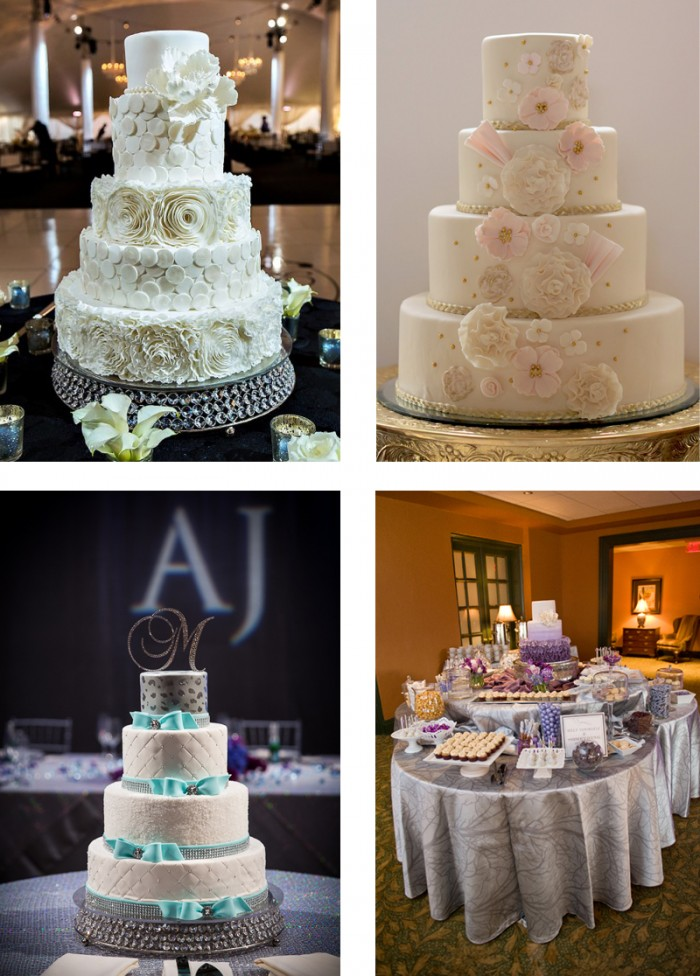 The Couture Cakery -Wedding Cakes & Dessert Table in Susquehanna Style 1/2014