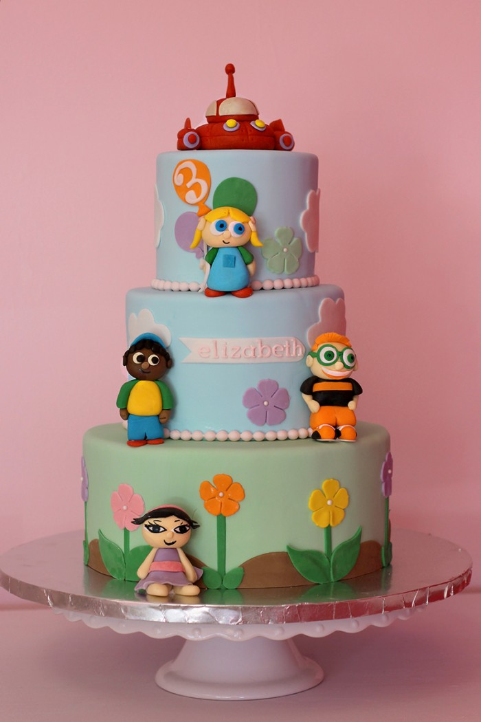 The Couture Cakery - 3rd Birthday Cake