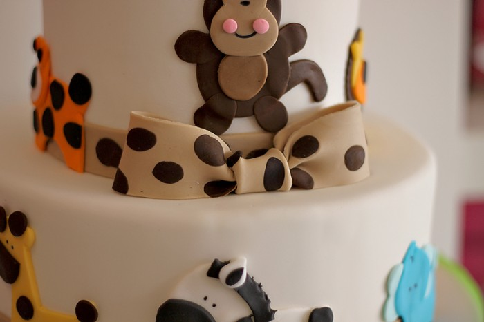 The Couture Cakery -Safari baby shower cake