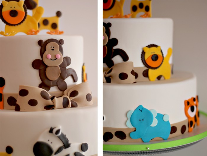 The Couture Cakery  Safari Baby Shower Cake