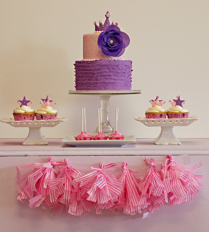 The Couture Cakery Princess Birthday Cake