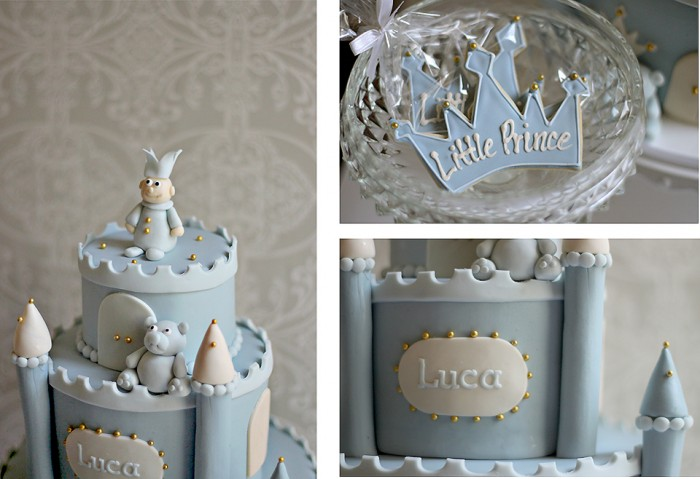 Lucas Little Prince Baby Shower Cake The Couture Cakery