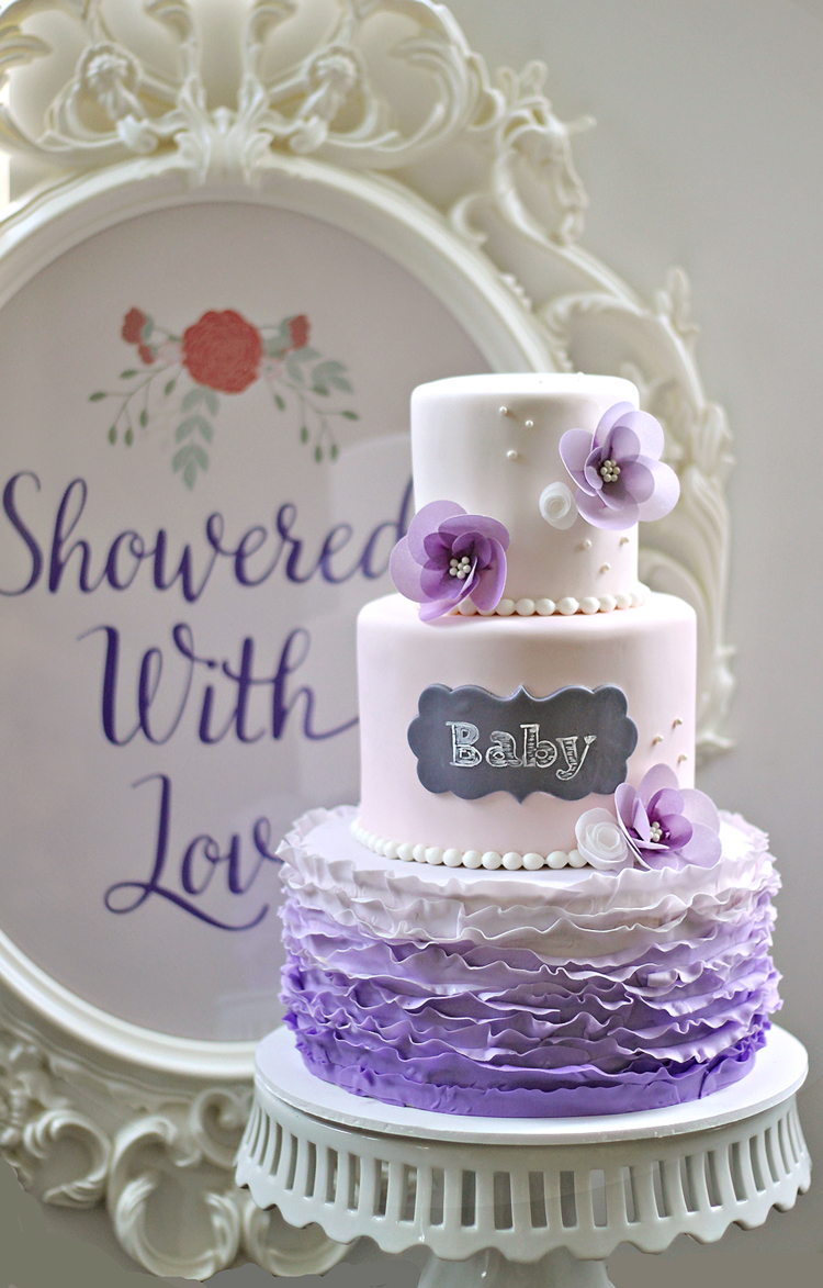 Showered With Love Corbin Stephanies Baby Shower The Couture