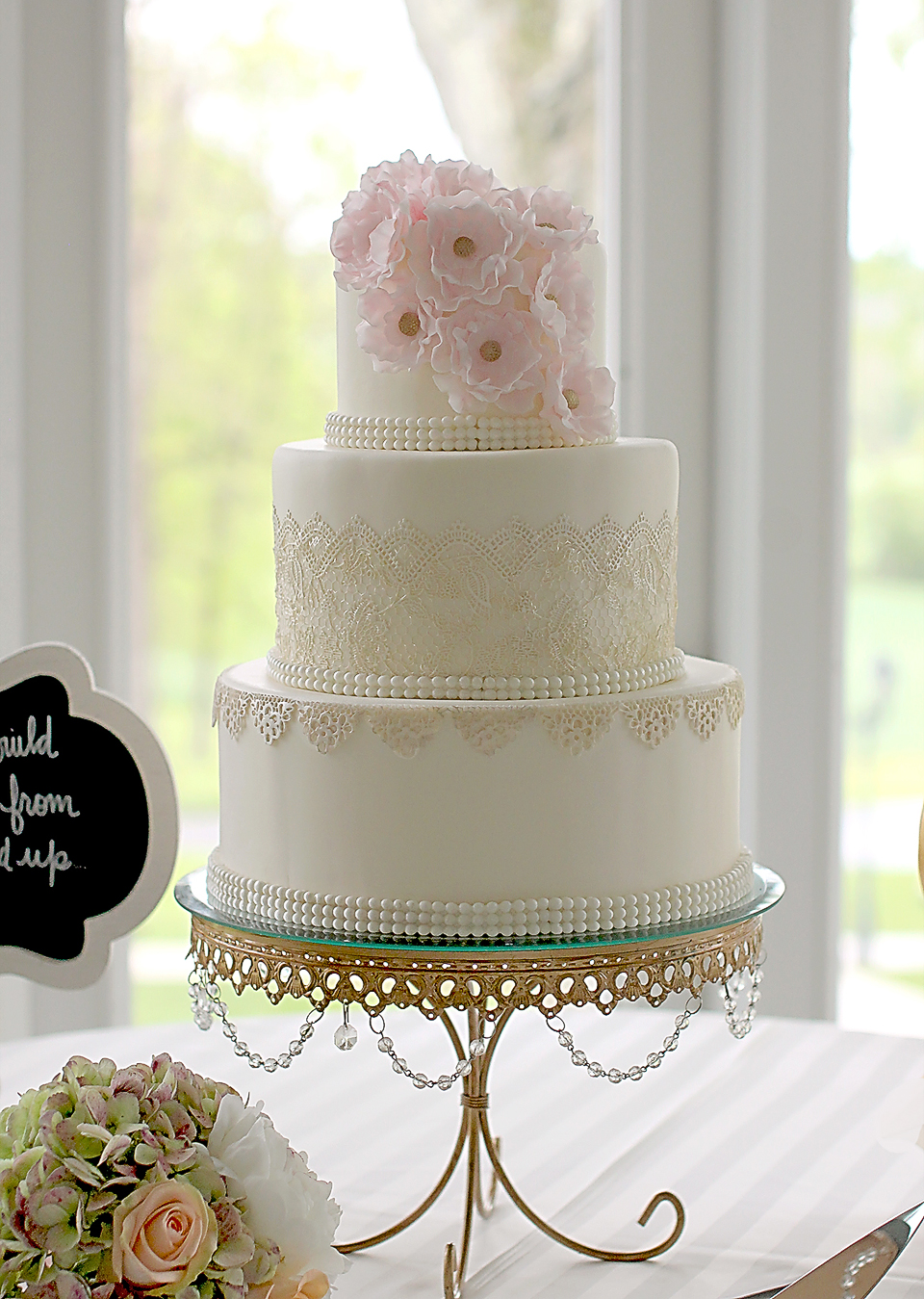 Couture Cakery - Wedding Cake