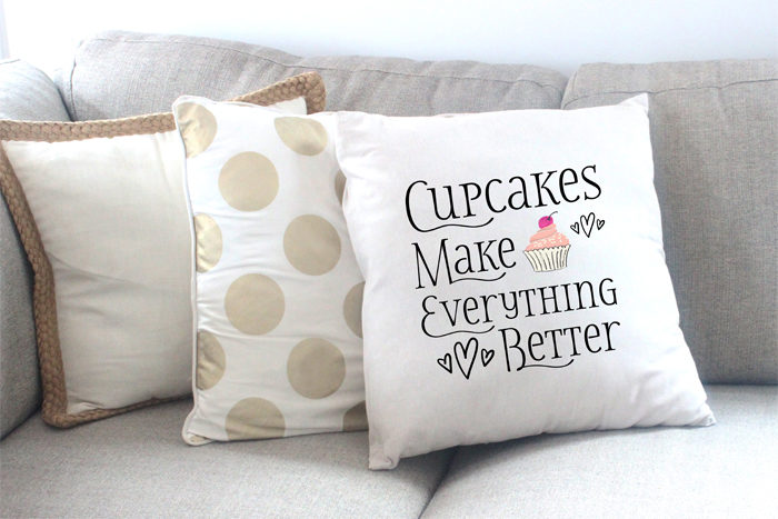Couture Cakery Shop Pillow