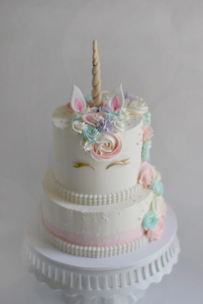 Lizzie S Unicorn Birthday Cake The Couture Cakery