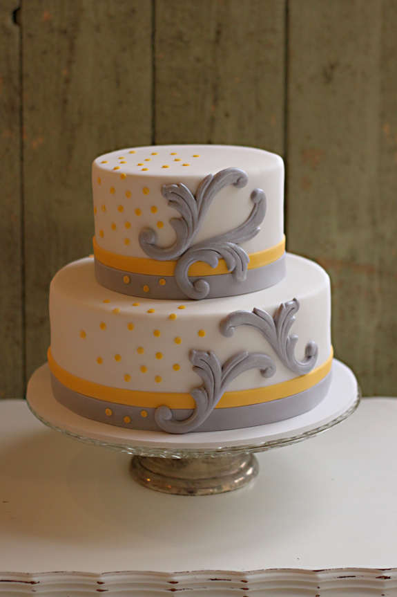 grey and yellow wedding cake celebration cake gallery the couture cakery 14982